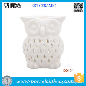 White Owl Candle Melt Aromatherapy Ceramic Oil Burner