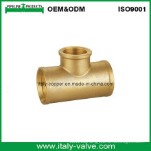 Customized Quality Brass Forged Equal Tee (AV-BF-9012)