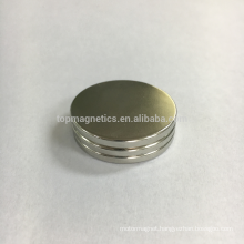 Rare earth strong circular magnet for white board