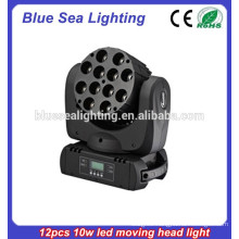 12*10 watt RGBW 4-in-1 led moving head light