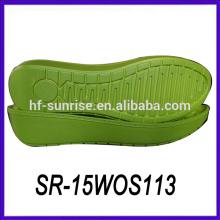 Свет pu леди толстая подошва повседневная обувь итальянская подошва подошвы для обуви