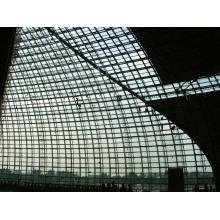 Индивидуальные Строительства Торгового Центра Стальная Пространственная Ферменная Конструкция