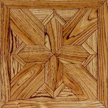 Plancher de stratifié imperméable de haute qualité qui respecte l'environnement de pâte d'art de 10mm