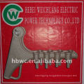 electric pole line hardware, NLL-4 aluminum alloy Strain clamp
