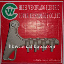 electric pole line hardware, NLL-4 aluminum alloy Strain clamp