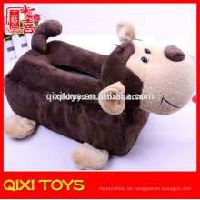 Am besten gemacht Gewebekasten Abdeckung Affe Plüsch dekorative Tissue Box Cover