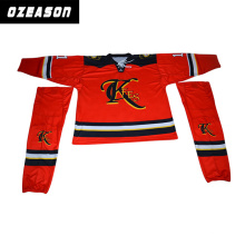 Ozeason Digital impreso personalizado Hockey sobre hielo Jersey