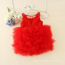 OEM usine articles enfants parti personnalisé robes échantillon bébé vêtements producteur nouvelles conceptions pour enfants vêtements filles de fleurs
