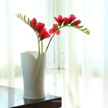 Высокое качество лепесток формы пластиковой вазы
