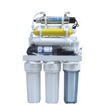 7 estágio RO sistema de filtro de água com esterilizador ultravioleta