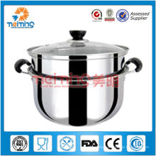 double layer multi-function stainless steel steamer pot, boiler pot