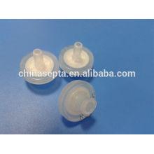 Filtro de seringa de 13mm PVDF 0.22um tamanho de poro
