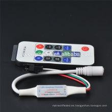 2016 control remoto inalámbrico de RF de la venta caliente para WS2811 WS2812B LED Strip Module
