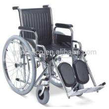 Stahl manuelle Rehabilitation Rollstuhl zum Verkauf W001
