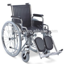 Стальная ручная реабилитационная инвалидная коляска для продажи W001