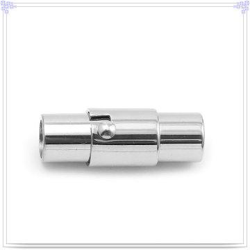 Mode Accessoires Leder Armband Edelstahl Schließe (SL0007)