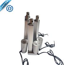 Sistema de ventilación industrial de las máquinas de la agricultura que levanta el actuador linear de 12v dc