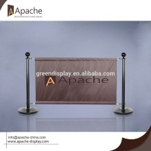 Oxford Fabric barrier for Coffee Store Display Stand