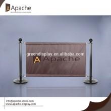 Oxford Fabric Barriere für Coffee Store Display-Ständer