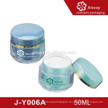 Großhandel Farbe kosmetischen Kunststoff Sahne Gefäße Container