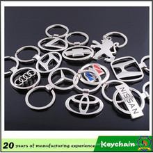Factory Direct Sale Cheap Metal Car Logo Keyring