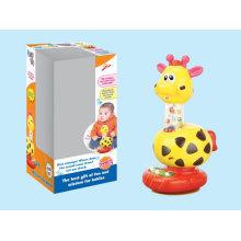 Brinquedo engraçado do girafa de B / O com música
