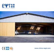 Hangar de acero de gran tamaño de la estructura de acero de la alta calidad