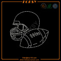 Football helmet iron on motifs wholesale