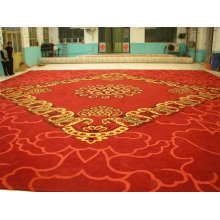 The Hall Wool Carpet Is Made by Hand