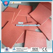 Fire-Resistant Rubber Flooring Antibacterial Floor Mat Rubber Factory Direct Indoor Rubber Tile Anti-Slip Rubber Flooring