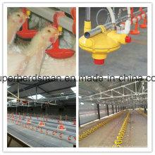 Automatische Geflügelfarm-Nippel-trinkende Ausrüstung für das Geflügel, das Haus bewirtschaftet