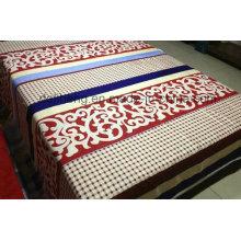 Home Textile alta qualidade 100% algodão impresso tecido de folha
