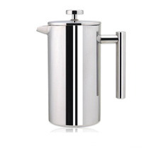 1000ml Stainless Steel Double Wall French Press Coffee Kettle