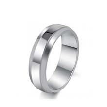 Anel barato, design de anel simples, anéis de aço inoxidável