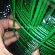 2''x3'' Green PVC Coated Welded Wire Mesh Fence