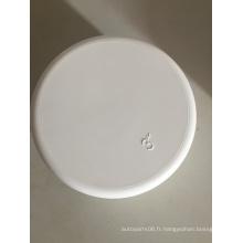 Caps blanc PVC Schwa de 3 po pour industrie pipelinière