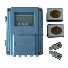 Grampo ultra-sônico fixo do medidor de fluxo no sensor (UF-100F)