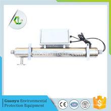 Le réservoir de stockage d'eau en pvc peut diluer l'eau stérilisateur uv pour ras