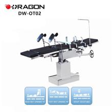 Table d'opération pliante électrique DW-OT02, tête contrôlée en Chine