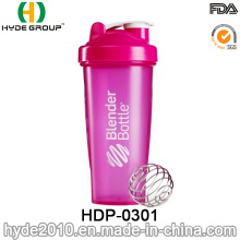 600 ml Großhandel BPA FREI Kunststoff PP Protein Shaker Flasche (HDP-0301)