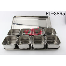 Stainless Steel Seasoning Box (FT-3865)