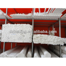 Moulded 6mm-330mm customized processing of various sizes and components white/black Turcite-B PTFE/F4/Teflon Rod/bar/round