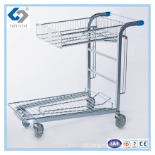 Metal Cargo Trolley for Warehouse