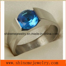 Shineme Jewelry Fashion Wire Cut Titanium Ring Jewelry (TR1837)