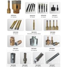 Vacuum Brazed Diamond Core Drill Bits