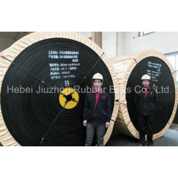 Câble d'acier résistant à la flamme Haute Performance bande transporteuse