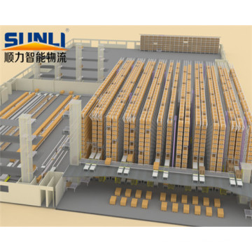 High Density Warehouse Automated Storage Rack System