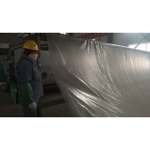 700g/m2 composite geomembrane  bonded with nonwoven geotextile for projects of landfill  waste water treatment