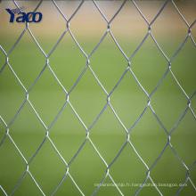 50x50 mm jardin à la maison chaude galvanisée chaîne lien lien, pvc enduit chaîne lien clôture