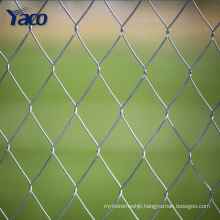 50x50 mm Home garden hot dipped galvanized chain link fence , pvc coated chain link fence